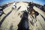 مسابقه سوارکاری کورس اسب های بومی و محلی پیست جوهری شهرستان لامرد