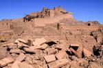 فیلم/ گذری بر تاثیر زمین لرزه بم بر بزرگترین بنای خشتی جهان