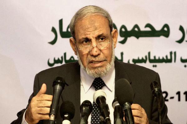 """الزهار: """"حماس"""" جاهزة لحرب مع إسرائيل في أي وقت"""