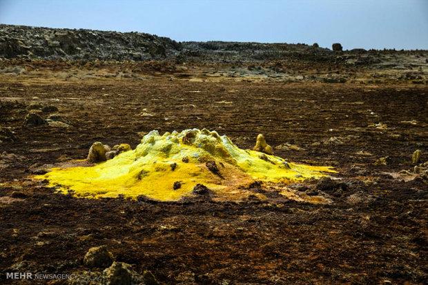 منطقه آتشفشانی دالول اتیوپی