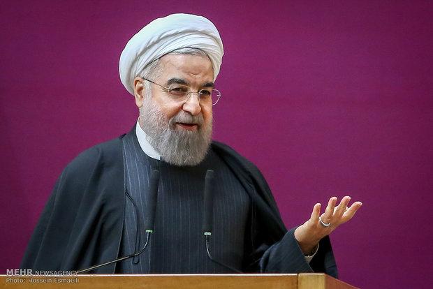 همایش ملی زنان،اعتدال و توسعه با حضور حجت الاسلام حسن روحانی رئیس جمهور
