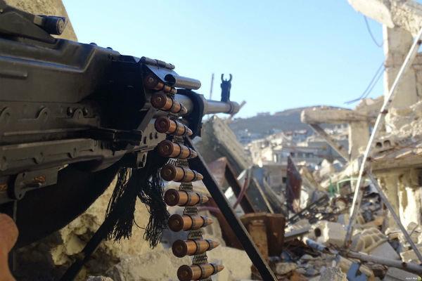 فلم/ شامی فوج کی حماہ میں دہشت گردوں کے خلاف کارروائی