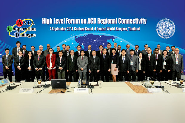 Asia Cooperation Dialogue; a forum for continental cooperation