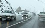 بارش برف در جاده های ۶ استان/ همه جاده ها باز است