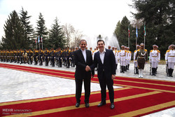 Official welcoming ceremony of Greek PM