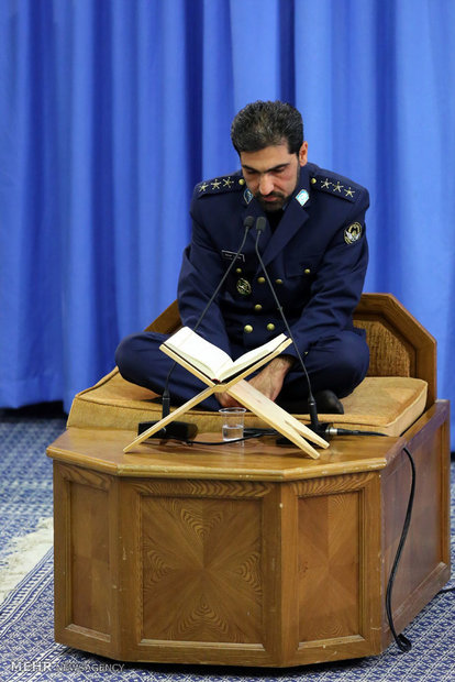 Leader receives Army Air Force staff