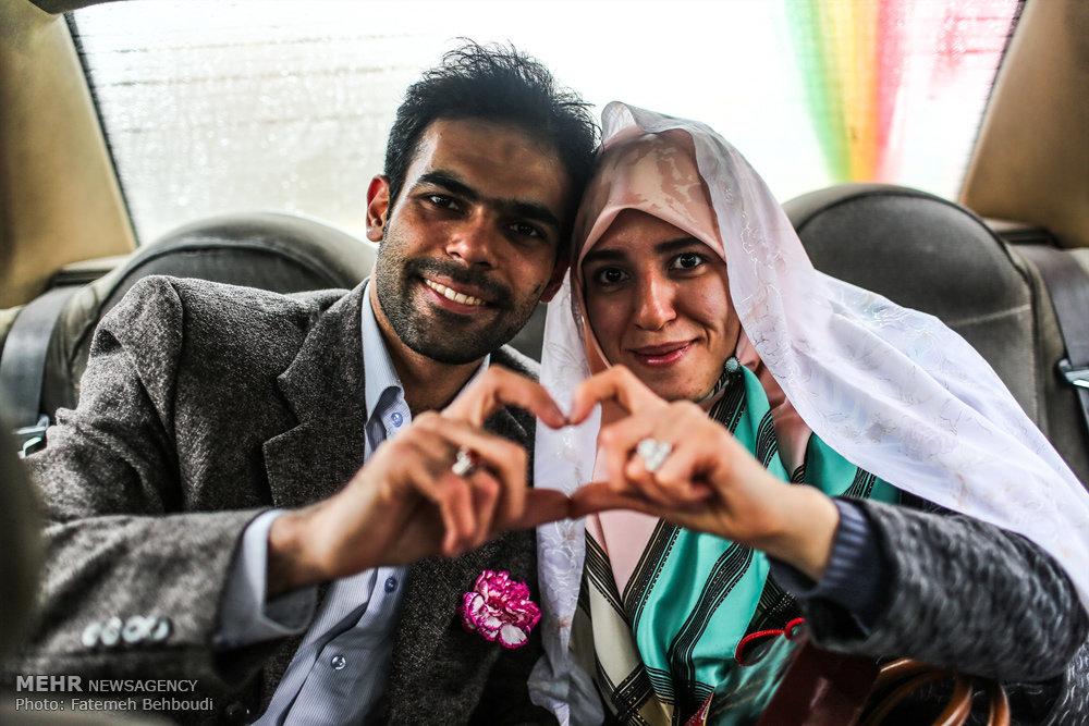مراسم ازدواج 200 زوج دانشجوی دانشگاه تهران