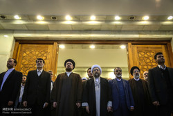 Judiciary officials, staff pay tribute to Imam Khomeini