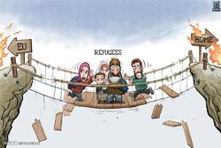 برترین کاریکاتورهای جهان در ۲۰ بهمن ۹۴
