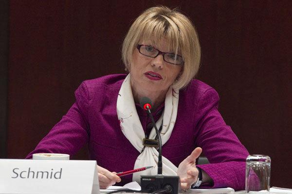 EU Helga Schmid stress need for preserving JCPOA at end of Iran visit