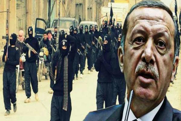 اردوغان کی موجودگي میں داعش کا خاتمہ ممکن نہیں