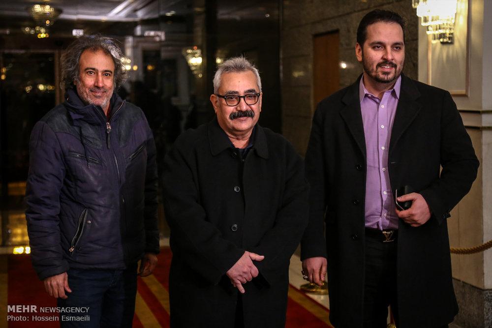 مراسم تجلیل از نامزدهای سی و چهارمین جشنواره فیلم فجر