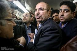 افتتاح ایستگاه مترو میرزای شیرازی با حضور محمدباقر قالیباف شهردار تهران