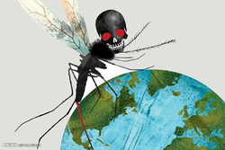 برترین کاریکاتور ها؛ زیکا تهدیدی جدی برای نسل بشر