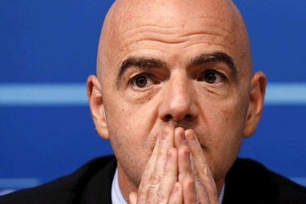 FIFA President Infantino condoles passing of Iran's Mehrdad Oladi