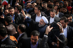 Pres. Rouhani, government officials in Feb. 11 rally