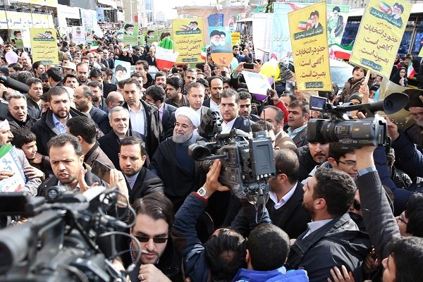 أهداف الثورة الاسلامية الايرانية لم تترنح عن ثوابت يوم الله 22 بهمن عام 1979