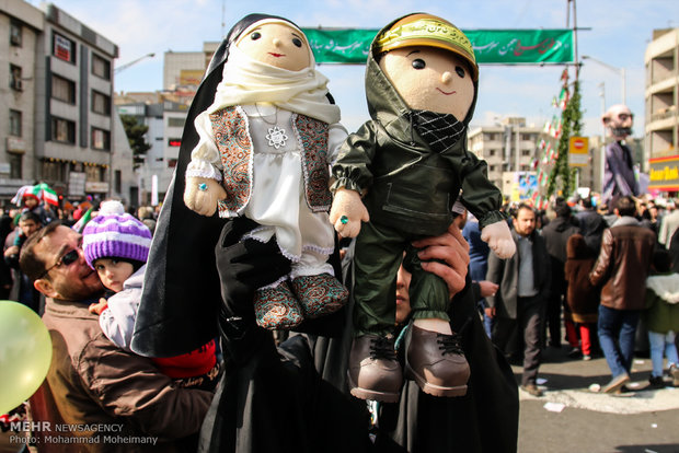 راهپیمایی یوم الله 22بهمن در تهران