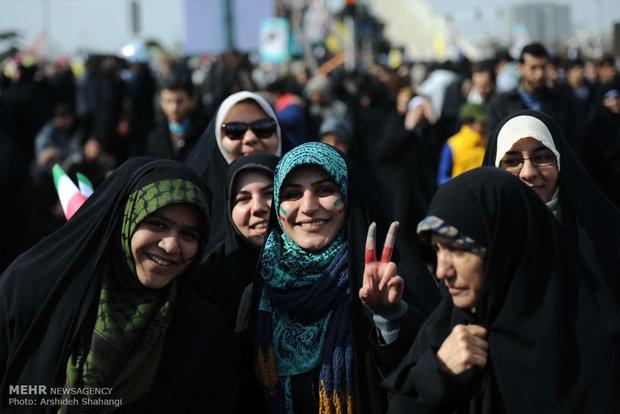 راهپیمایی یوم الله ۲۲بهمن در تهران