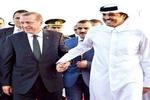 امیر قطر در سفری رسمی وارد آنکارا شد