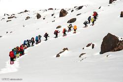 مشاهد من الصعود  الى قمة جبل سبلان ثالث اعلی جبل فی ایران