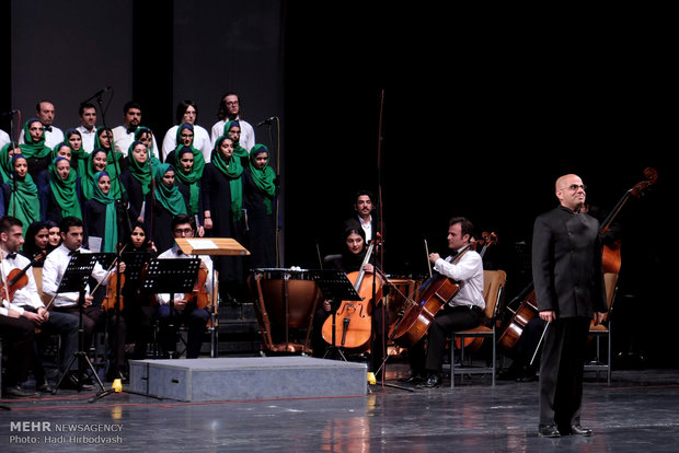 Pars Orchestra performs in Tehran