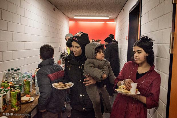 وضعیت آوارگان سوری در آلمان