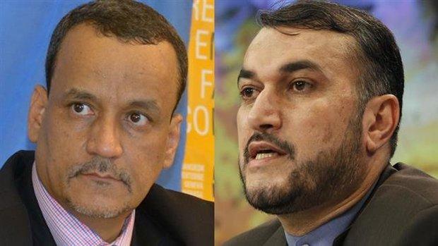 Iran backs ceasefire, dialogue in Yemen