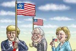 Amerika Başkanlık Seçimleri/Karikatür