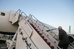 FM Zarif leaves Baku for Nakhchivan Autonomous Republic