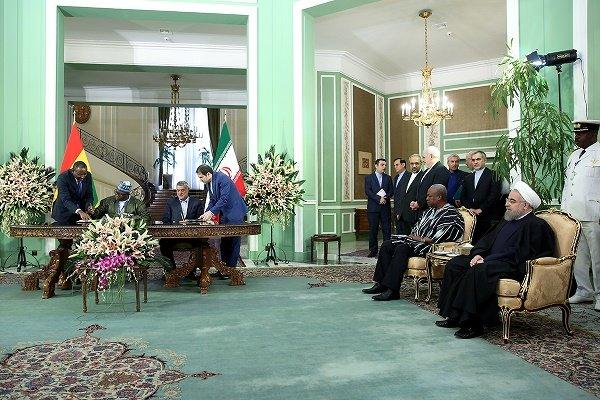 Iran ve Gana 2 işbirliği protokolü imzaladı