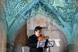 کنسرت گروه سازهای زهی لایپزیگ آلمان در حمام وکیل شیراز