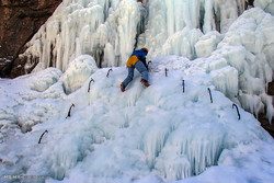 Ice climbing, winter sports festival