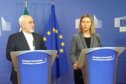 Zarif ve Mogherini, nükleer anlaşmanın uygulanmasına vurgu yaptı