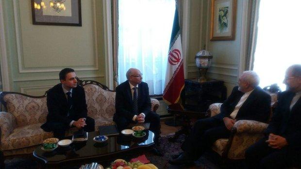 EU Parl. delegation arrives in Tehran