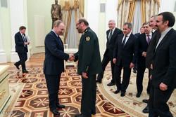 دیدار وزیر دفاع ایران و رئیس جمهور روسیه
