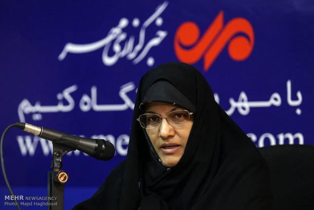 زهره الهیان عضو جمعیت رهپویان انقلاب اسلامی