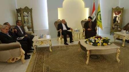 Industry min. meets head of ISCI in Baghdad