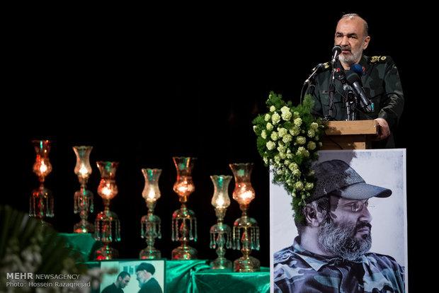 إحياء الذكرى السنوية لاستشهاد عماد مغنية في طهران