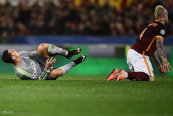 دیدار تیم های فوتبال رئال مادرید و رم