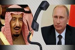 گفتگوی تلفنی پوتین ملک سلمان