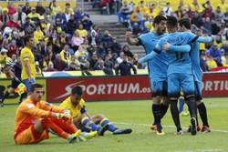 پیروزی دشوار بارسلونا برابر لاس پالماس/افزایش شکاف با مادریدیها