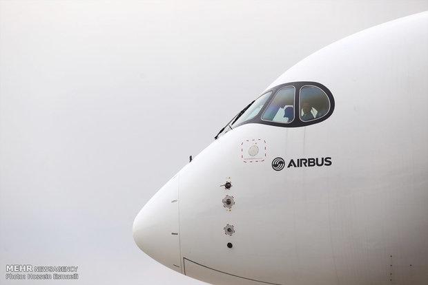 تحویل اولین هواپیمایی ایرباس 350