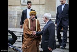 Zarif ve Umman Dışişleri Bakanı'nın görüşmesi/Foto