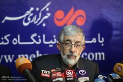 نشست خبری حداد عادل در خبرگزاری مهر