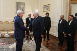 Zarif receives Slovak amb. in farewell visit