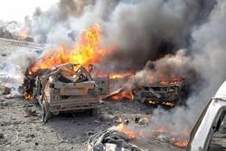 قتلى وجرحى بانفجار سيارة مفخخة في مخيم للاجئين على الحدود السورية مع الأردن