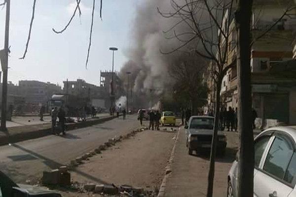 انفجار حمص
