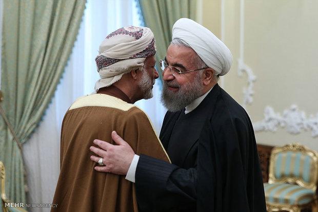 Rouhani receives Omani FM