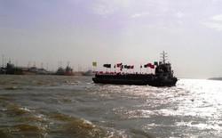بوق کشتی ها در اروندرود به صدا درآمد